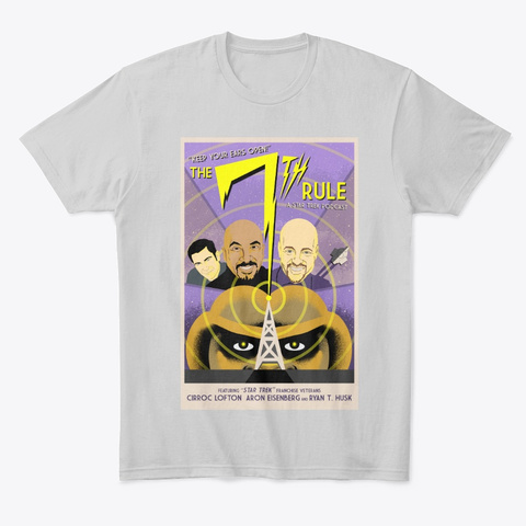 T7 R Poster1 Light Heather Grey  T-Shirt Front