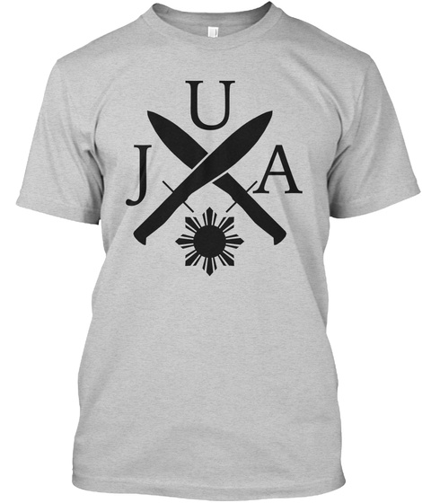 Urvil James Arnis [Gry] Light Steel T-Shirt Front