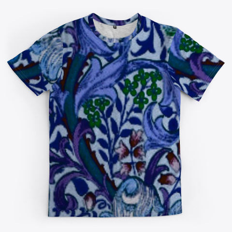 Pretty Floral Dressy Tee Standard T-Shirt Front