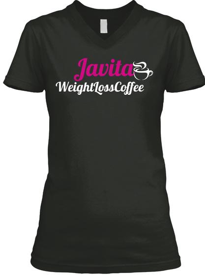 Javita WeightLossCoffee Black T-Shirt Front