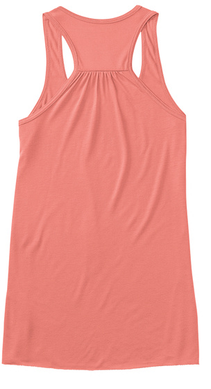 Ugly Christmas Tank Top Coral T-Shirt Back