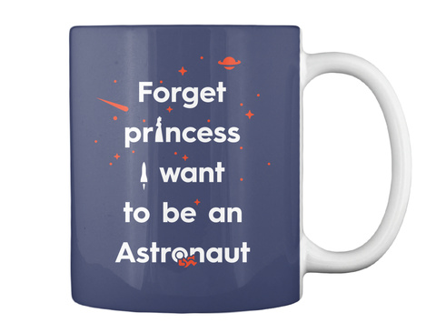 Forget Princess 3 Mug [Usa] #Sfsf Dk Navy Mug Back