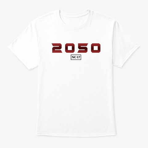 Nc 17 White T-Shirt Front