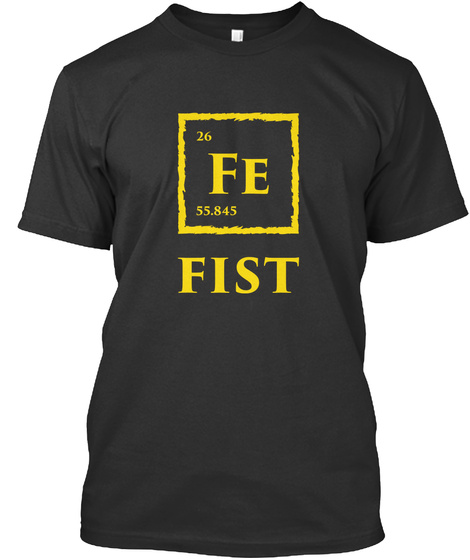 Fist [Int] #Sfsf Black T-Shirt Front