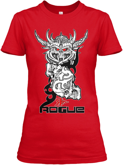 Rogue Red T-Shirt Front