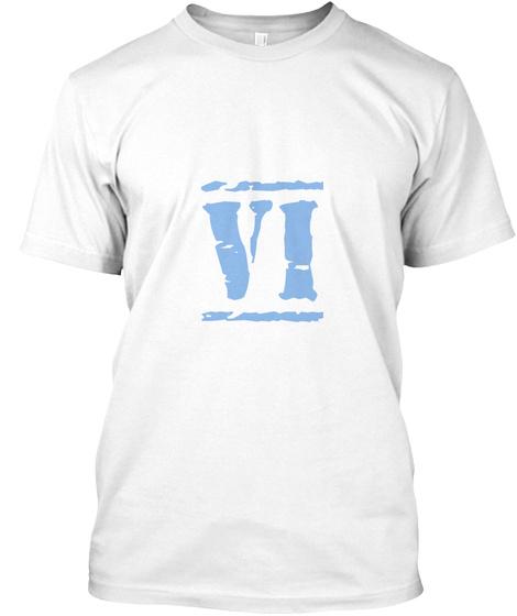 Vi   White T-Shirt Front