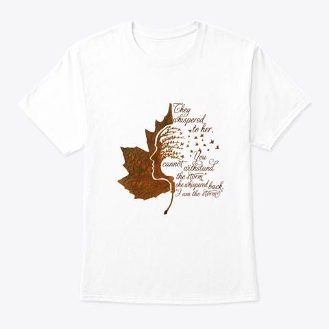Flower Children Storm Hippie Costume White T-Shirt Front