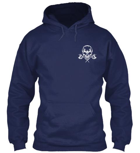 Tattoo Artists Shirt   Certified Badass  Navy T-Shirt Front