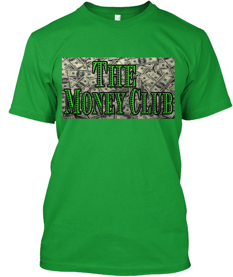 The Money Club Kelly Green Kaos Front