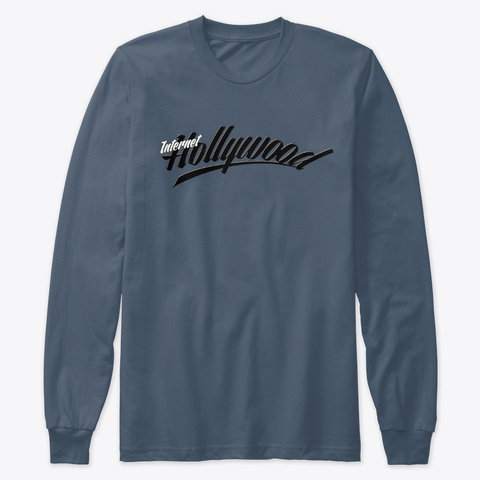 Ih Long Sleeve Vs1 Tee Indigo Long Sleeve T-Shirt Front