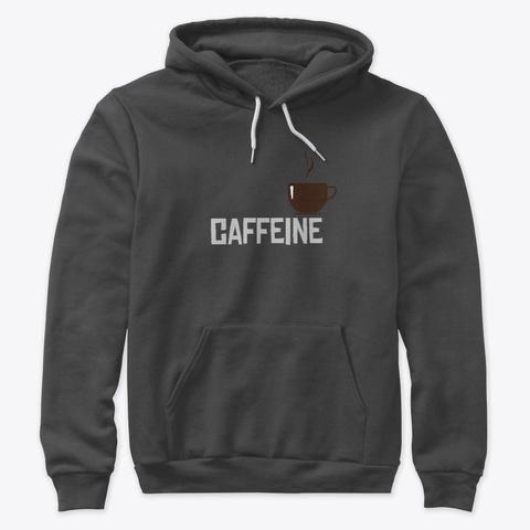 Caffeine Dark Grey Heather T-Shirt Front