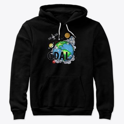 Gdal T Shirt Black T-Shirt Front