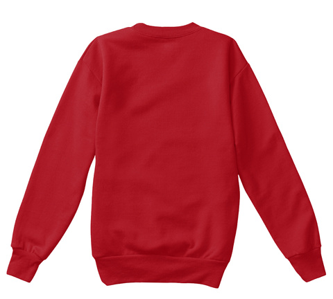 Sasha Clause (Kids) Deep Red  T-Shirt Back