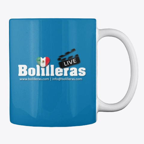 Bolilleras Live Royal Blue T-Shirt Back