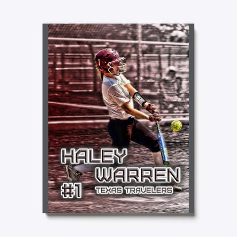 Haley Warren   3 Dark Grey T-Shirt Front