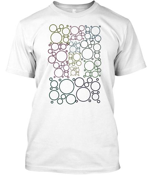Circle Of Life White T-Shirt Front