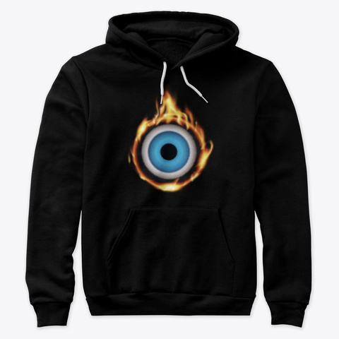 Oculus Heat  Black   Hoodie T Yoga Black T-Shirt Front