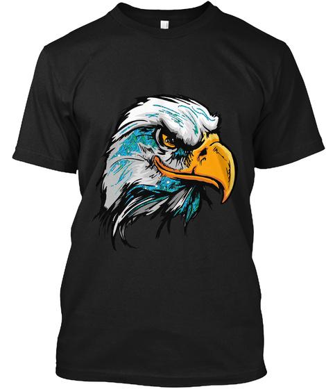 Hawk T Shirt Black T-Shirt Front