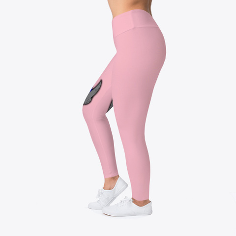 Space Cheddar The Leggings Pink T-Shirt Left