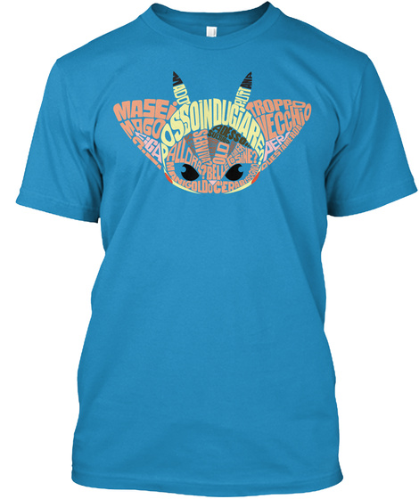 Mase Mago Ado Ossoindugiare Troppo Vecchio Sapphire T-Shirt Front