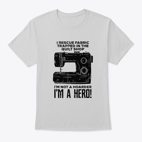 Sewing Sewing Machine Light Steel T-Shirt Front