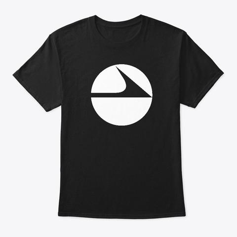 Classic Coast Black T-Shirt Front