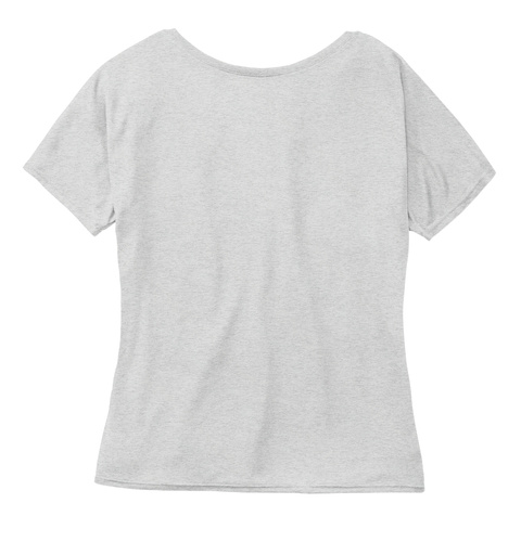 You Are A Pkg. Athletic Heather Women's T-Shirt Back