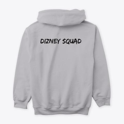 Dizney Squad Princes Sport Grey T-Shirt Back