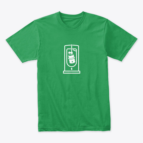 Oil Was Here 🤖 #Sfsf Kelly Green T-Shirt Front