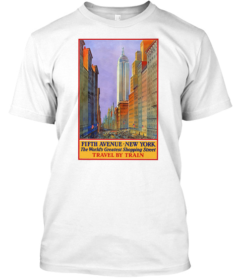 12f45557087372 Vintage Travel Fifth Avenue New York Products from Travel Renew Ts ...