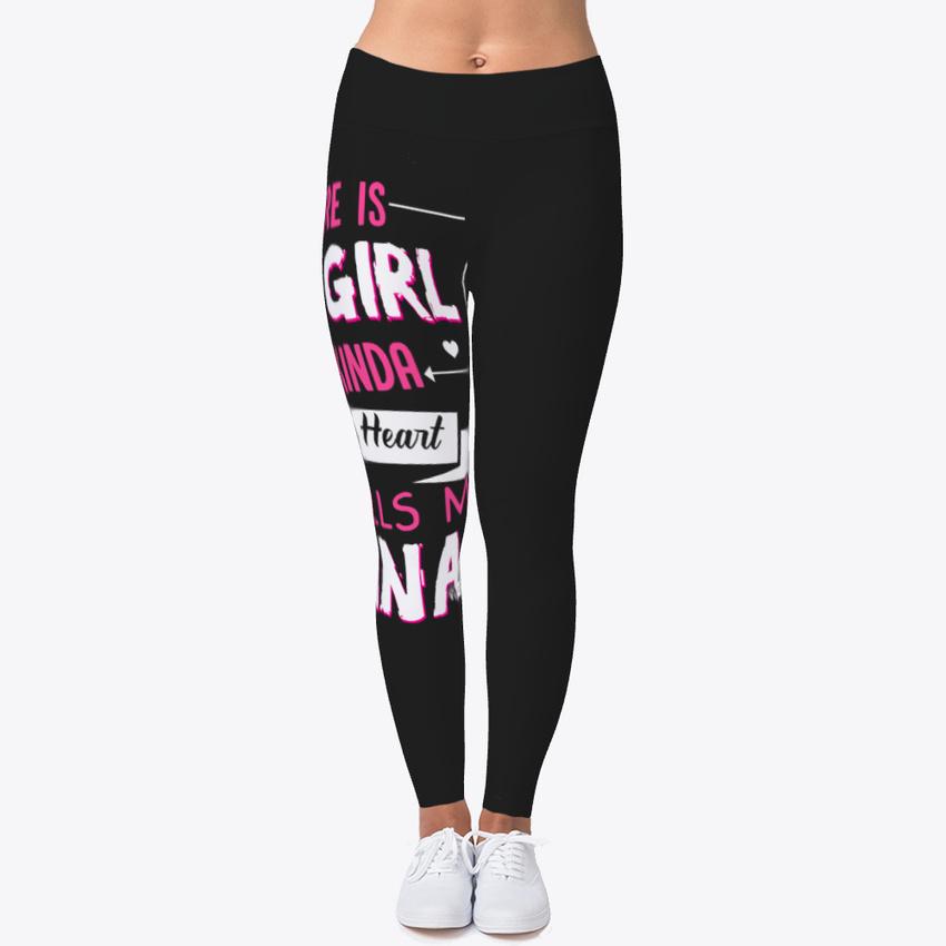 Nana Cushion Women s Print Fitness Stretch  Leggings  Yoga Pants  f794a4d74d