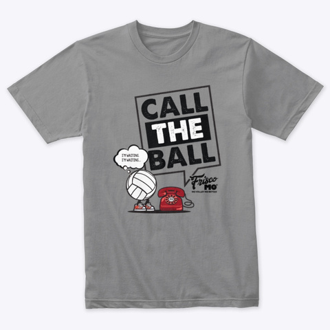 Call The Ball Premium Heather T-Shirt Front