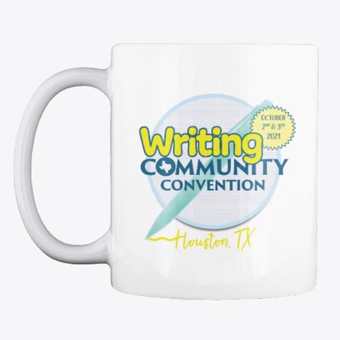 Wri Comm Con2021 Coffee Mug White T-Shirt Front