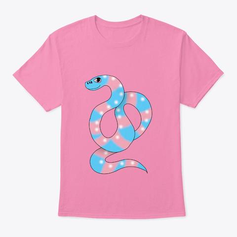 Trans Snake Pink T-Shirt Front