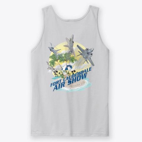 2020 Fort Lauderdale Air Show T Shirt Sport Grey T-Shirt Back