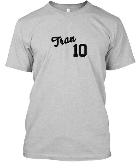 Tran Varsity Legend Light Steel T-Shirt Front