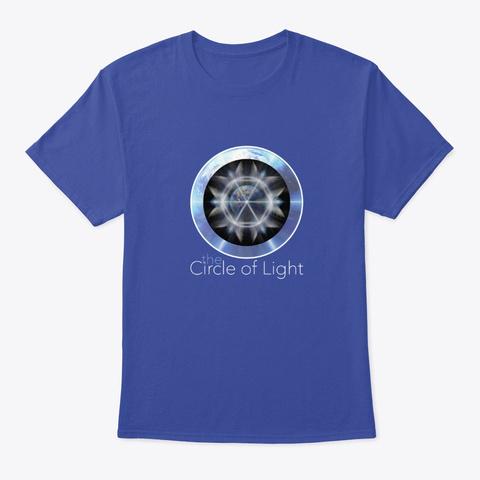 The Circle Of Light  Deep Royal T-Shirt Front