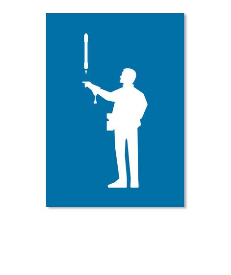 Falconer 3 Man Sticker [Int] #Sfsf Royal Blue Sticker Front
