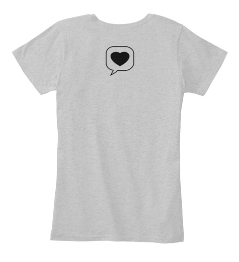 My Style Is My Style Light Heather Grey T-Shirt Back