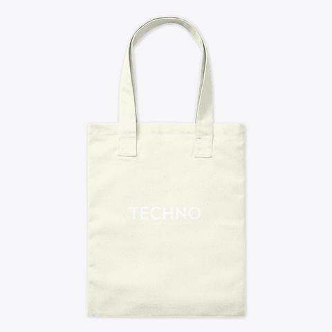 Charlotte De Witte Acid Techno Simple De Natural T-Shirt Front