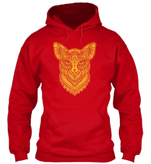 Fox Art Red T-Shirt Front