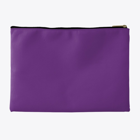Pouch   Your Lashes Look Fab Purple T-Shirt Back