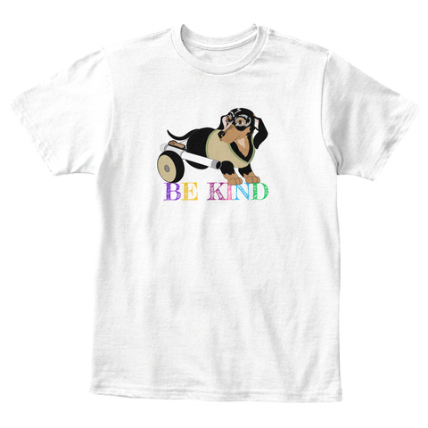 Critter Kin Kids   Be Kind Rb White T-Shirt Front