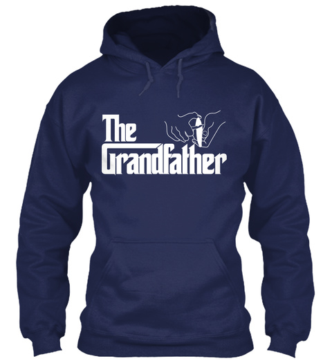 The Grandfather Navy Sweatshirt Front