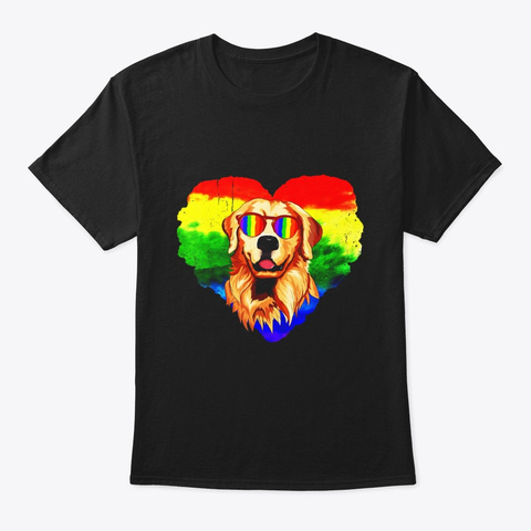 Gay Pride Month 2019 Lgbt Shirt Black T-Shirt Front