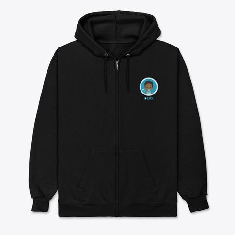 Derx Wipes Apparel Black T-Shirt Front