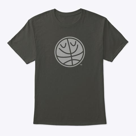 Basket Bill™ (Mellow Print™) Smoke Gray T-Shirt Front