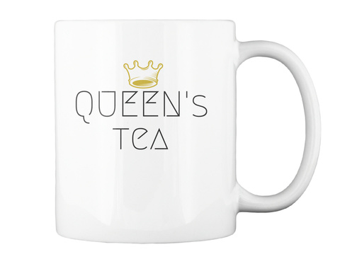 A Royal Cocktail White Mug Back