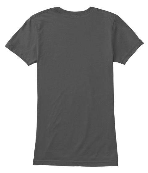 "Limited Edition Ladies ""Boricua"" T Shirt Asphalt T-Shirt Back"