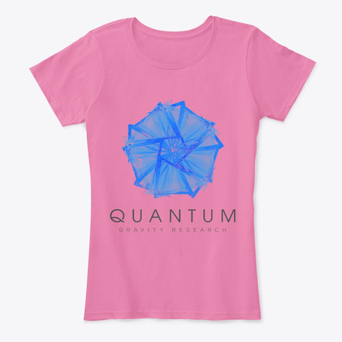 Quantum Gravity Research Gear  True Pink T-Shirt Front